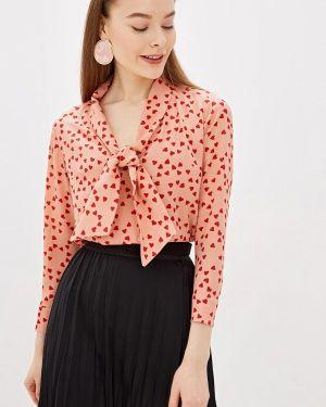 Блузка с длинным рукавом розовая Camomilla Italia