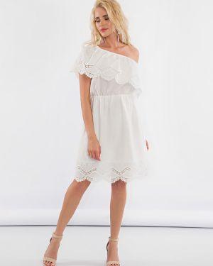 Платье на одно плечо батистовое Jetty