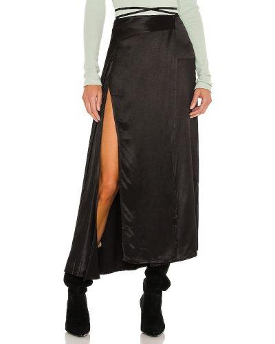 Spódnica kopertowa - czarna Atoir