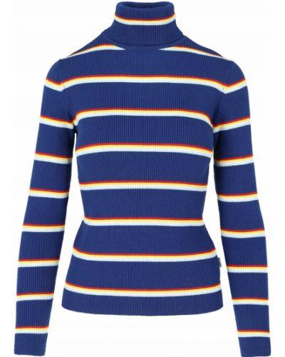 Czerwony sweter w paski bawełniany Wrangler