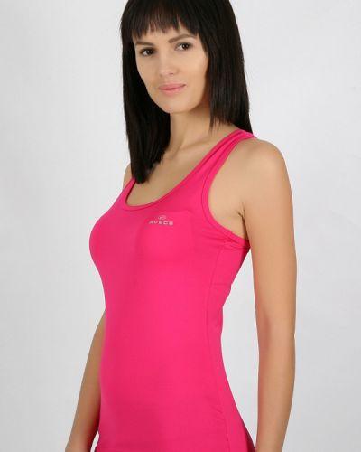 Розовая спортивная майка Avecs