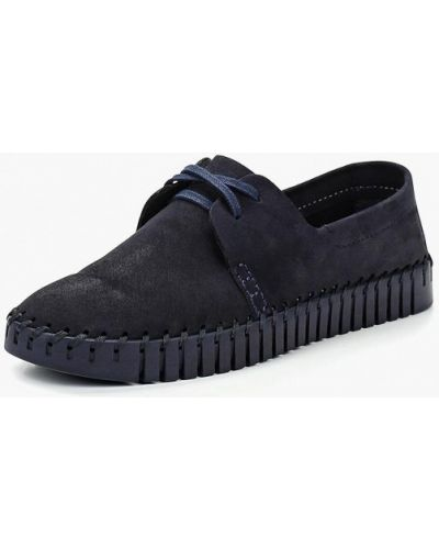 Ботинки из нубука низкие Shoiberg