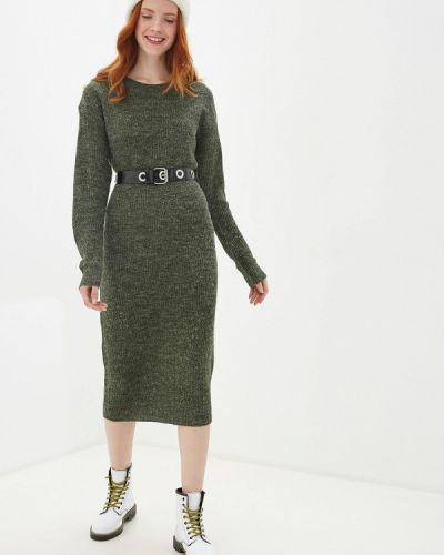 Платье вязаное осеннее Ichi