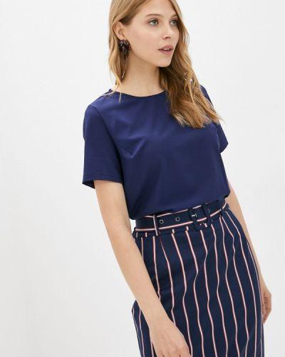 Синяя блузка с коротким рукавом с короткими рукавами Froggi