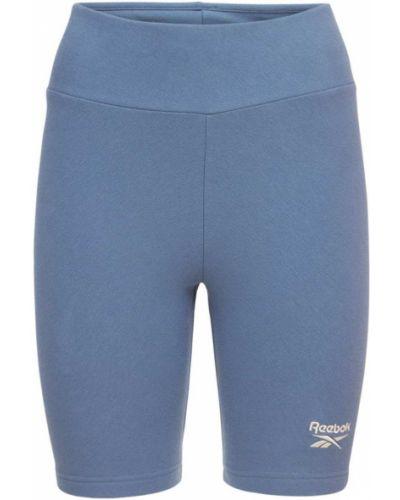 Синие шорты классические Reebok Classics