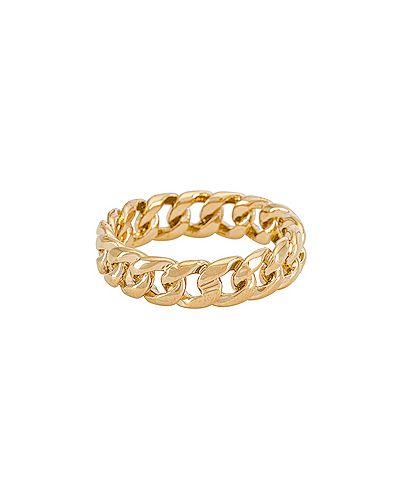 Złoty pierścionek pozłacany Miranda Frye