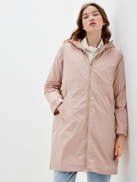 Теплая розовая утепленная куртка Bulmer