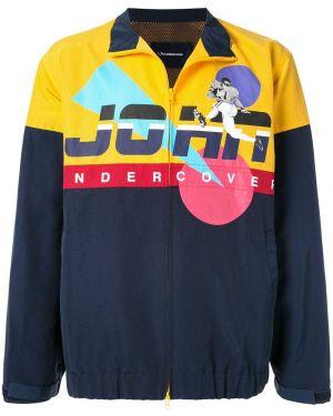 Нейлоновая синяя куртка Johnundercover