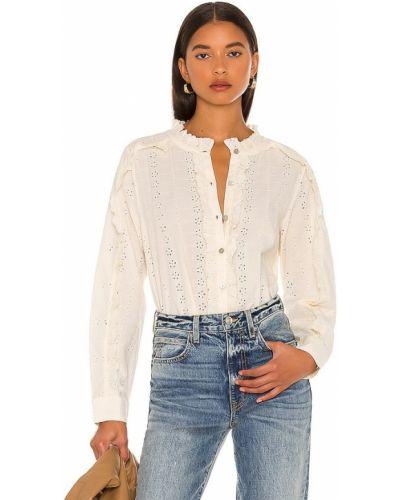 Блузка с вышивкой Cleobella