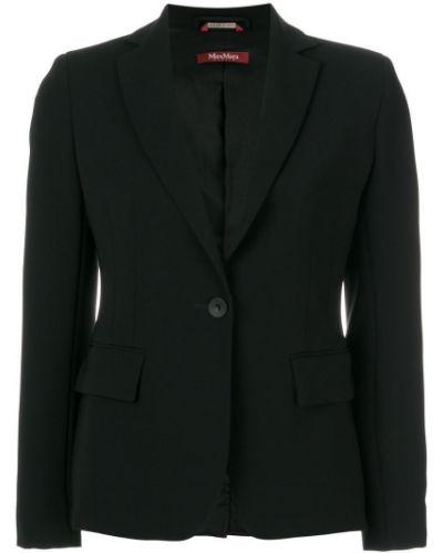 Пиджак черный прямой Max Mara Studio