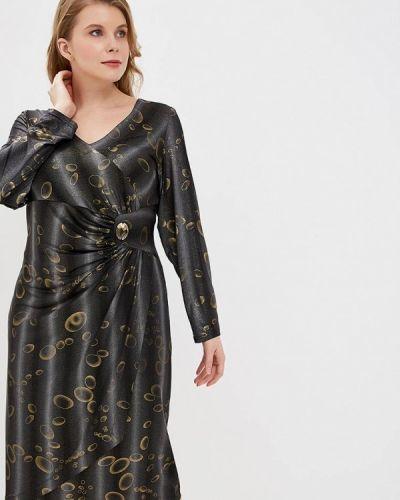 Повседневное платье серое осеннее мечты данаи