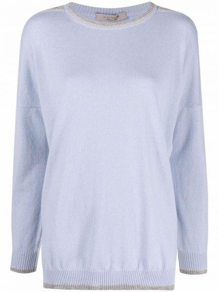 Кашемировый свитер - синий D.exterior