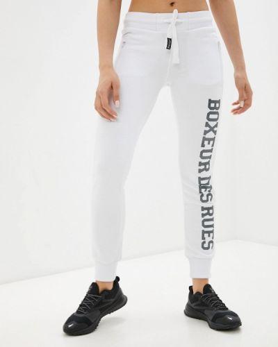 Белые спортивные брюки Boxeur Des Rues