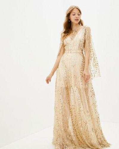 Вечернее платье - золотое Gepur
