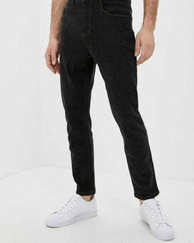 Черные прямые джинсы Qwentiny