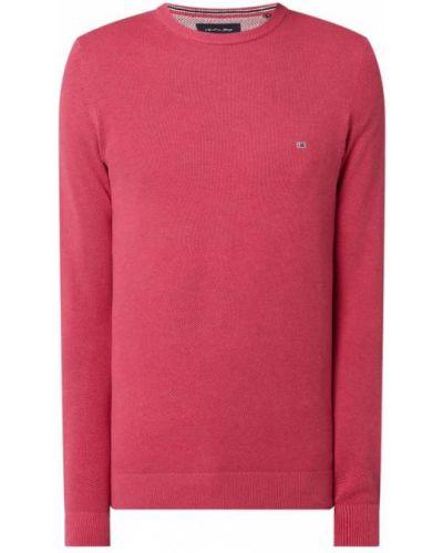 Różowy sweter bawełniany Christian Berg Men
