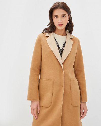 Пальто демисезонное бежевое Sisley