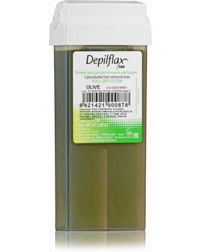 Воск для депиляции кожаный прозрачный Depilflax 100