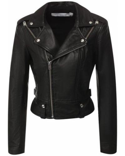 Кожаная куртка черная джинсовая Iro