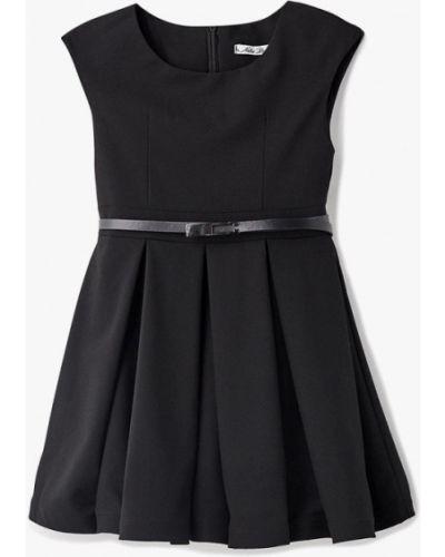 Черное платье осеннее Nota Bene
