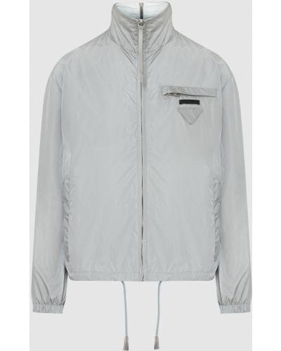 Куртка - серая Prada