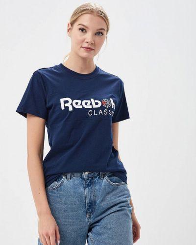 Синяя футболка Reebok Classics