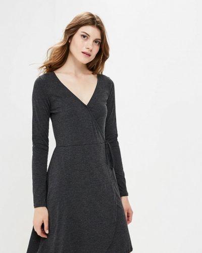 Серое платье с запахом Brave Soul