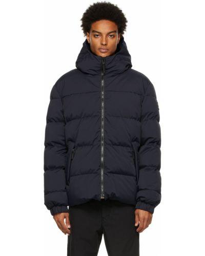 Черная куртка с воротником Kanuk