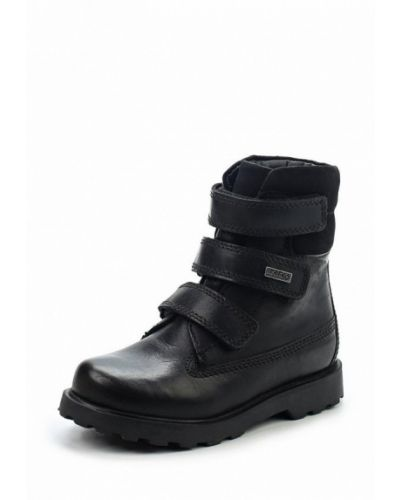 Черные ботинки Bartek
