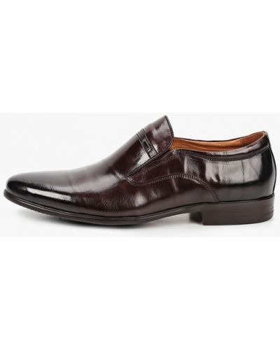 Коричневые кожаные туфли Rossini Roberto