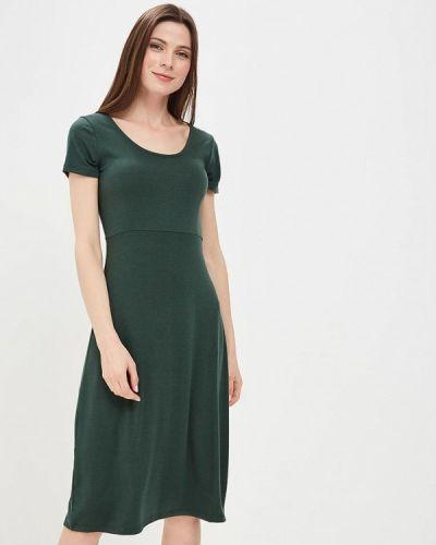 Зеленое платье весеннее Modis