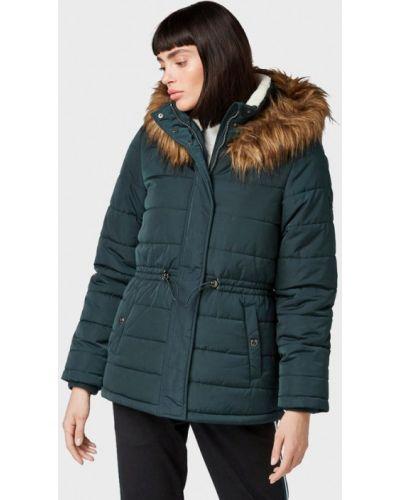 Зимняя куртка утепленная джинсовая Tom Tailor Denim