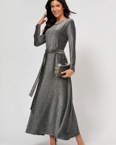 Серебряное вечернее платье Lussotico