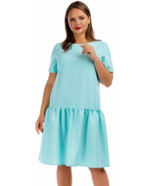 Повседневное платье мини - мятное Liza Fashion