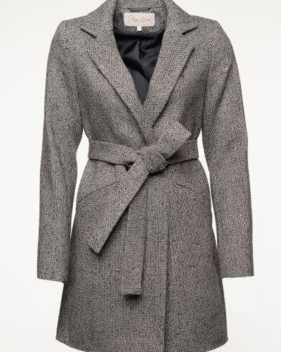 Шерстяное пальто - белое Serge Leoni