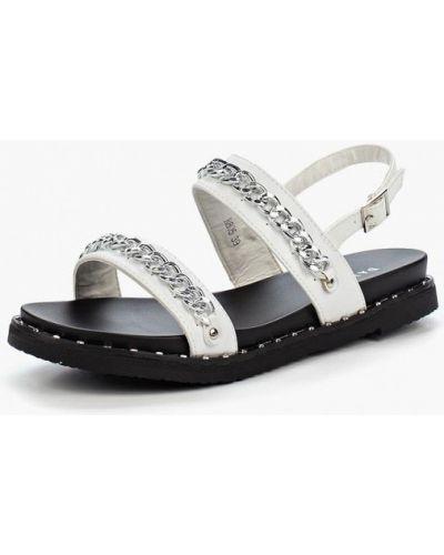 Белые сандалии Damerose