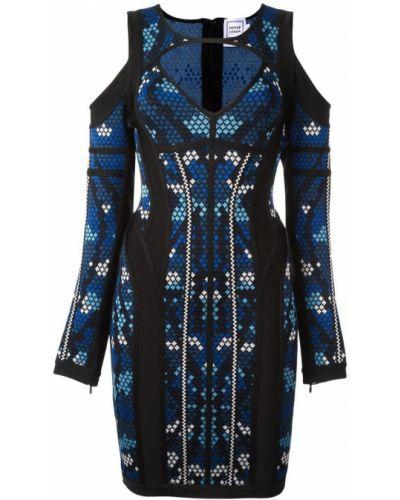 Облегающее платье - черное Herv Lger