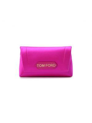Розовый кожаный топ Tom Ford
