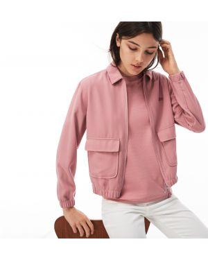 Куртка с карманами укороченная Lacoste