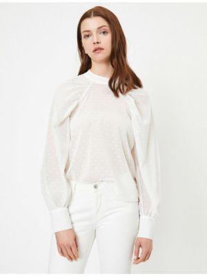 Bluzka z długimi rękawami z wiskozy Koton