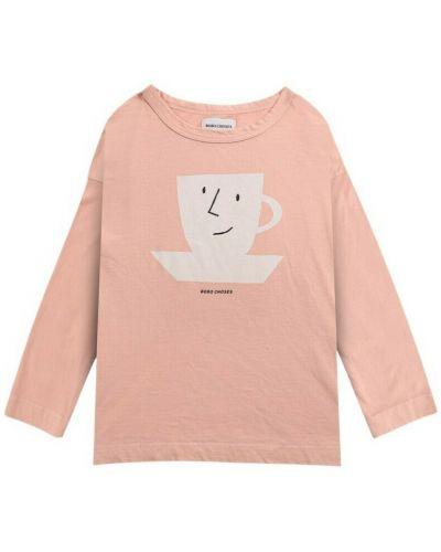 Różowa t-shirt Bobo Choses