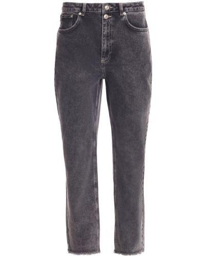 Серые джинсы из эластана Set