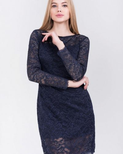 Платье весеннее синее Bluzka