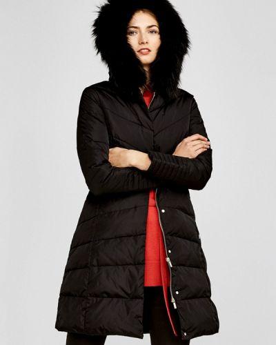 Зимняя куртка осенняя черная Pedro Del Hierro