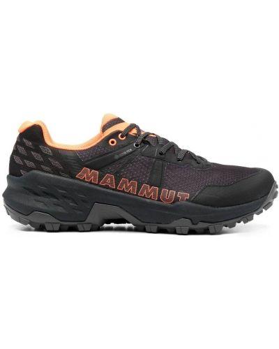 Кроссовки на шнуровке - черные Mammut