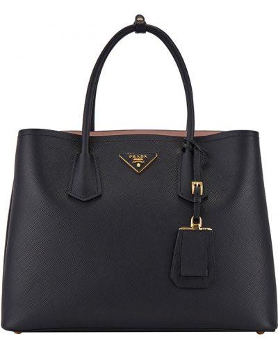 Кожаный сумка большая Prada