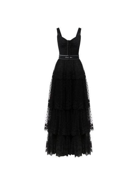 Платье с поясом платье-комбинация на шнуровке Dolce & Gabbana
