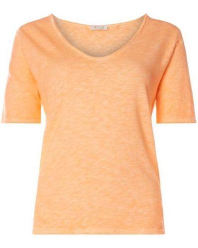 T-shirt bawełniana - pomarańczowa Rich & Royal