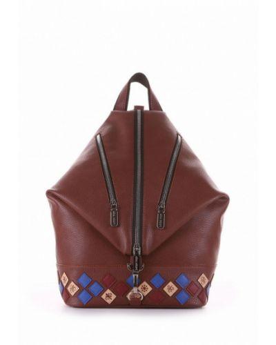 Коричневый рюкзак городской Alba Soboni