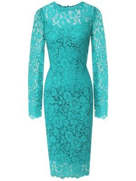 Платье с цветочным принтом осеннее Dolce & Gabbana